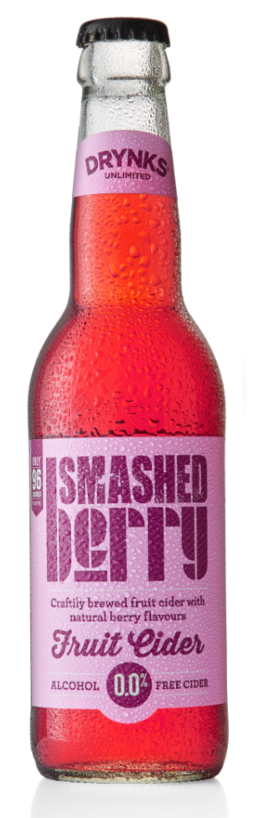 Smashed Berry - Drynks 0.05% 330ml Case of 12