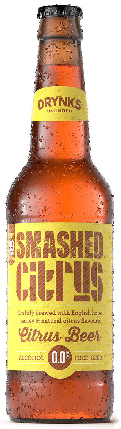 Smashed Citrus - Drynks 0.05% 330ml Case of 12