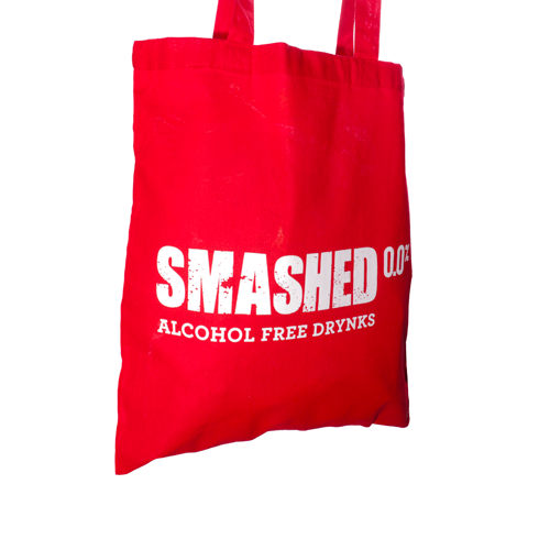 Drynks Unlimited 'Smashed' Tote Bag