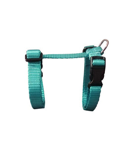 Small Adjustable Cat Harness - Teal