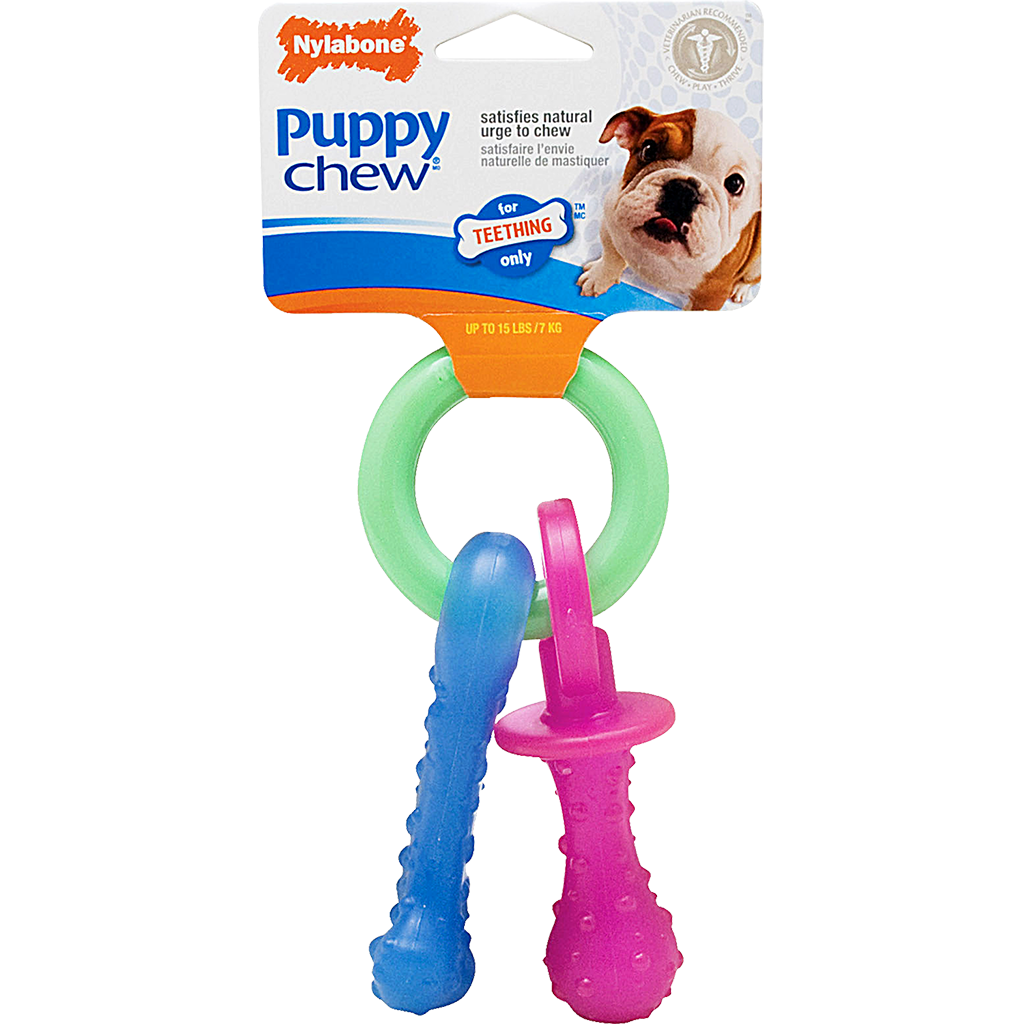 Teething Pacifier Petite | Puppy