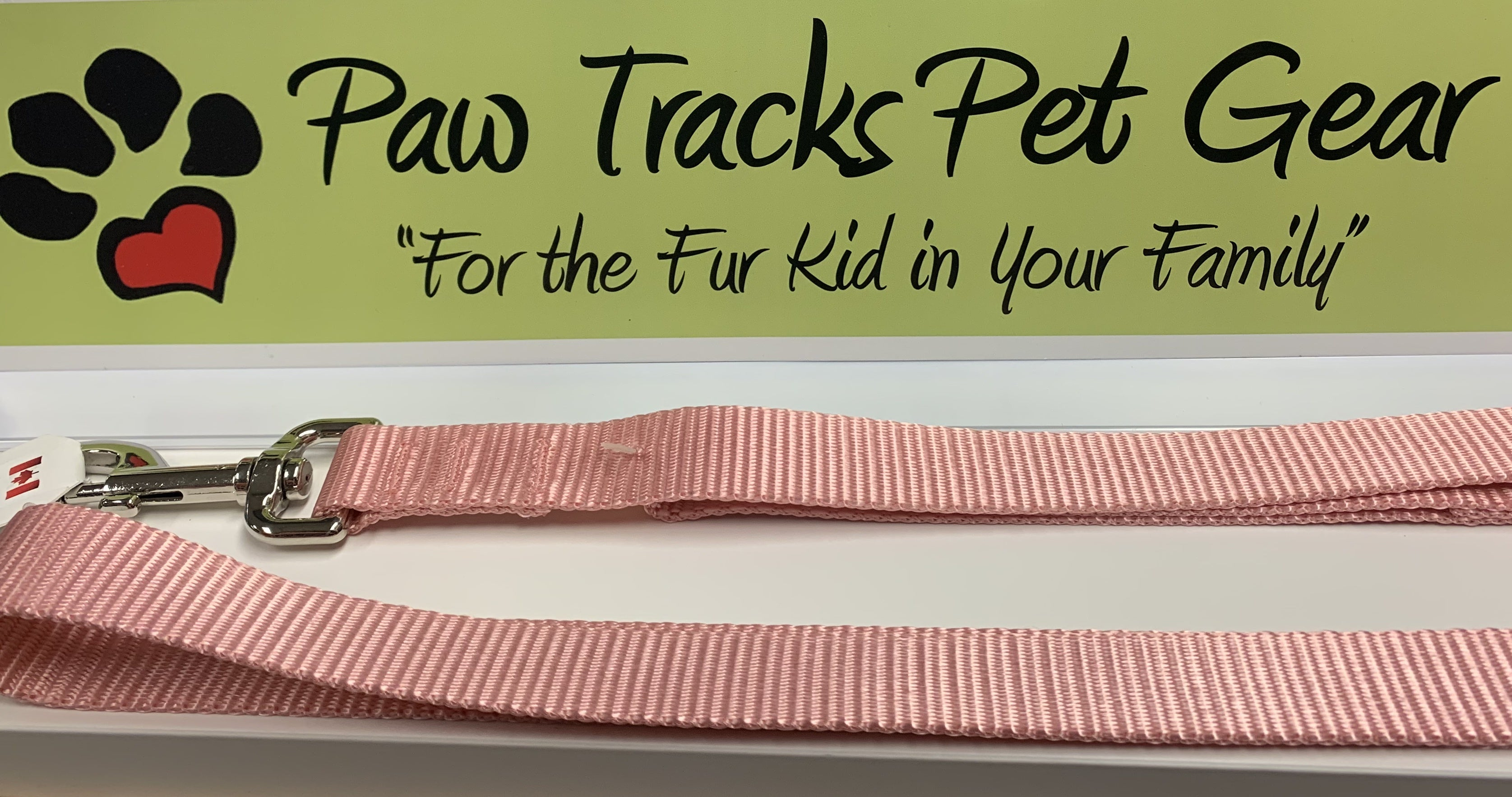 "3/4""x 6 ft Dog Leash - Pink"