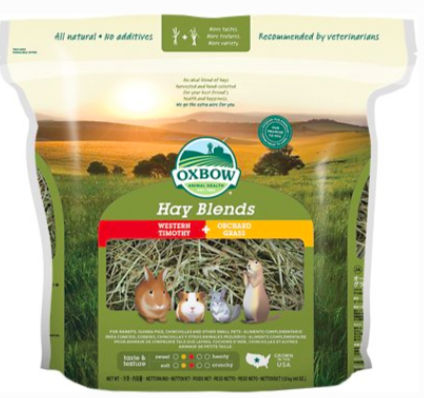 Hay Blends Timothy and Orchard 40 oz Bag
