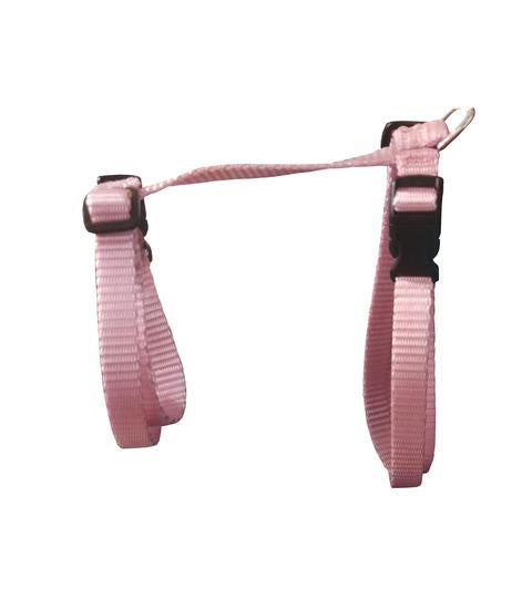 Small Adjustable Cat Harness - Pink