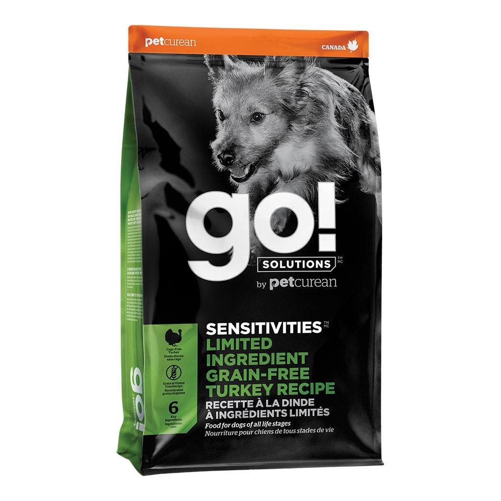 GO! Sensitivities LID GF Turkey Dog Kibble  3.5LB