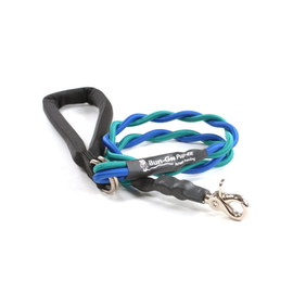 Bungee PupEE Leash 3' Teal & Blue - Up to 45 lb