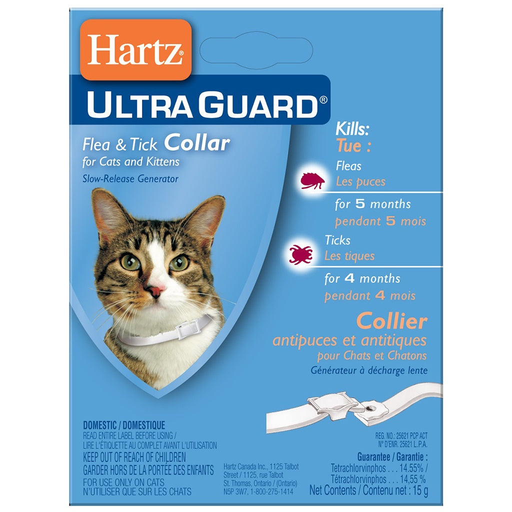 Ultra Guard Flea & Tick Collar - Kitten & Cat