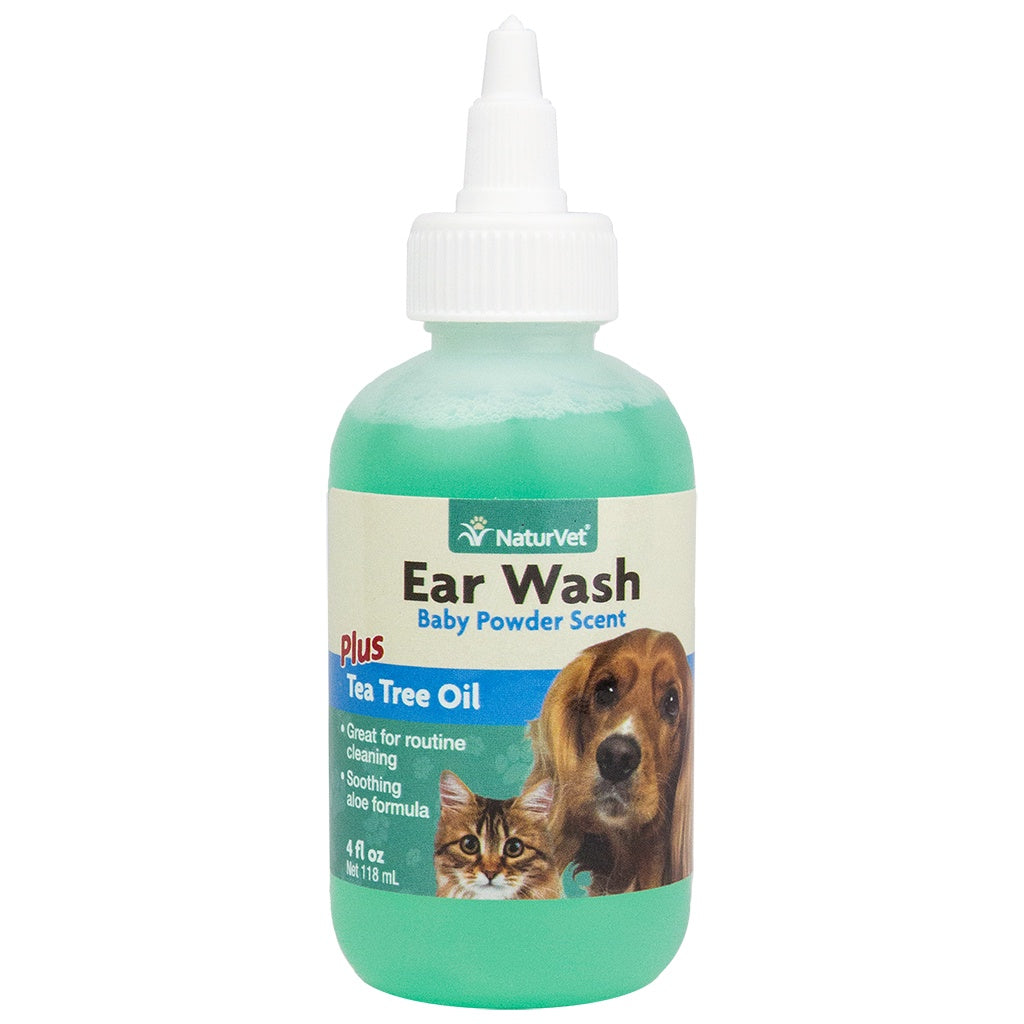Ear Wash Tea Tree Oil 4OZ