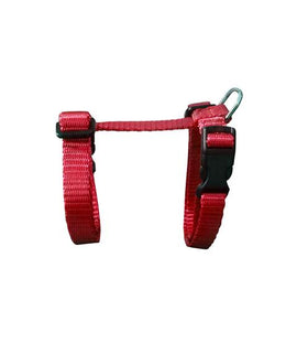 Medium Adjustable Cat Harness - Red