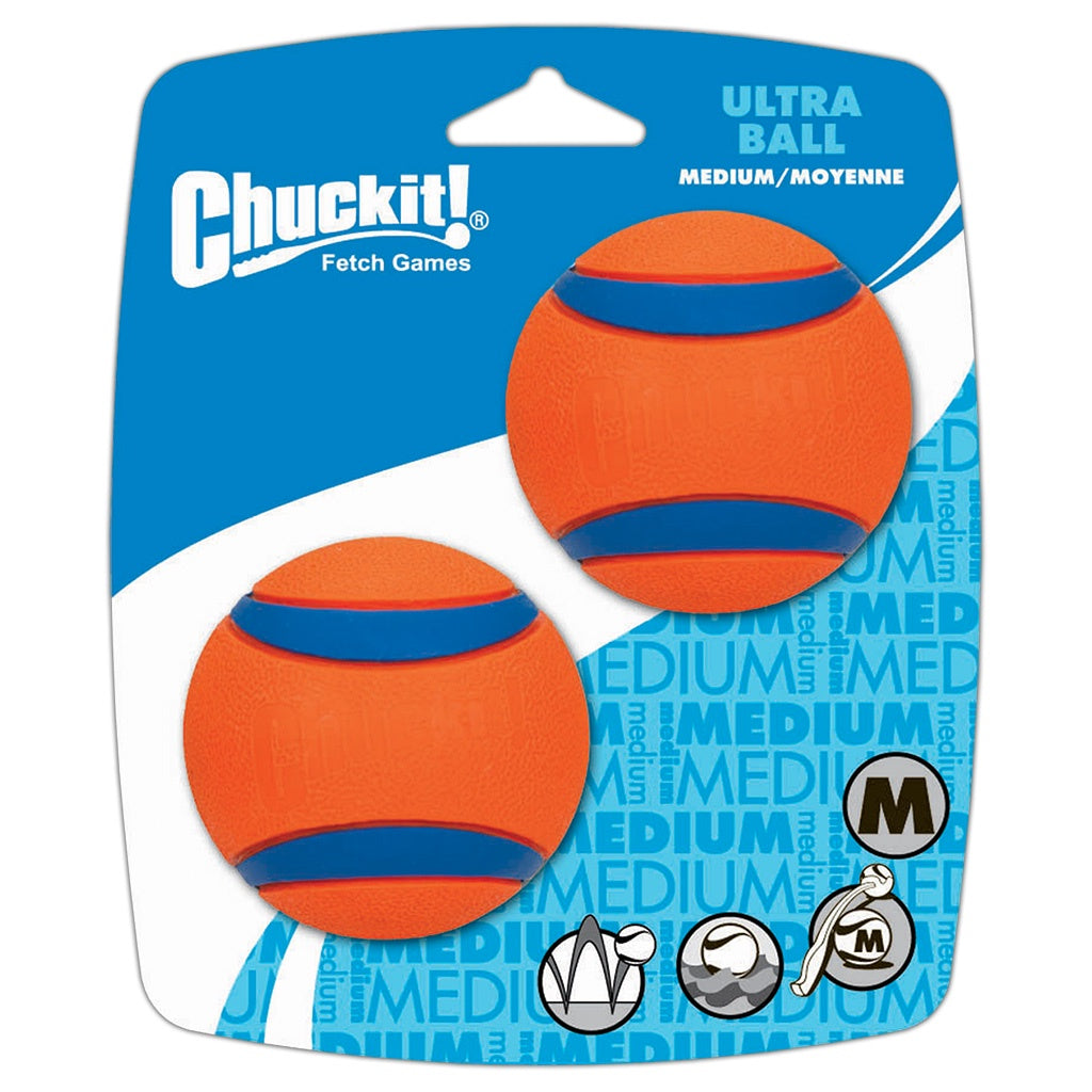 Chuckit Ultra Ball Medium 2 pk/float