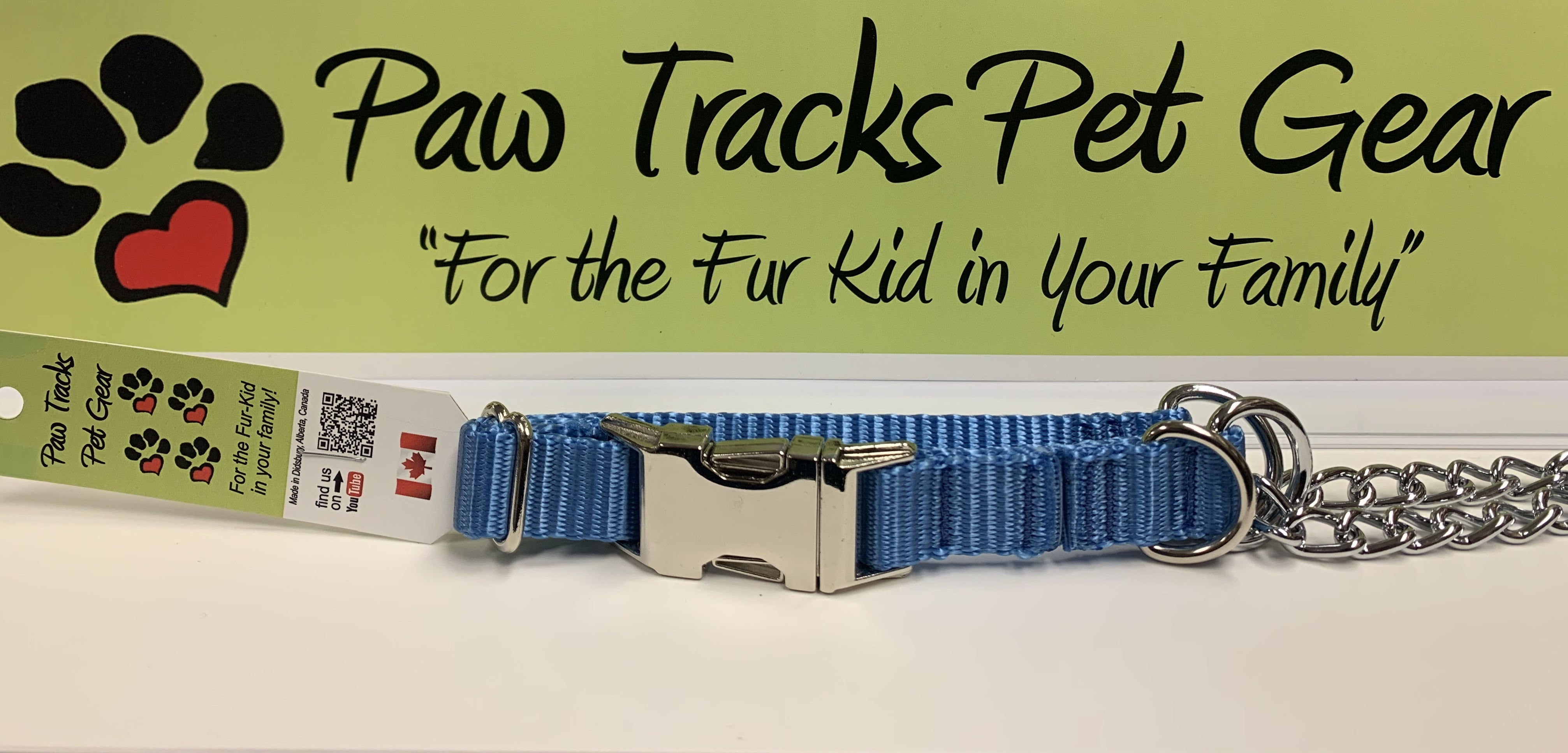 3/4' Martingale Collar (17-22') - Royal Blue