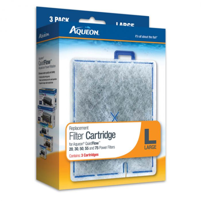 Aqueon Filter Cartridge 3 Pack - Large