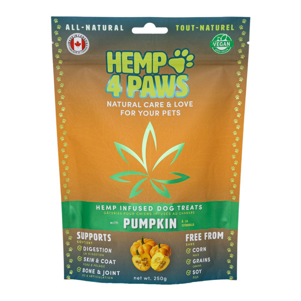 Hemp Infused Treats Pumpkin 250G