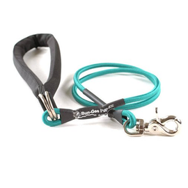 Bungee PupEE Leash 3' Teal SM Up to 25 lb