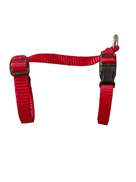 Small Adjustable Cat Harness - Red