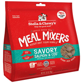 Savory Salmon & Cod Meal Mixers 3.5 oz.