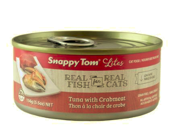 Snappy Tom Tuna with Crabmeat 5.5oz