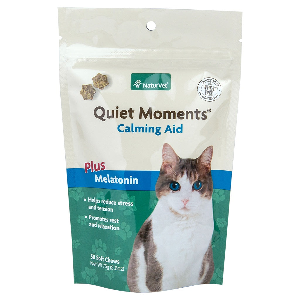 Soft Chew Quiet Moments + Melatonin 50CT - Cat