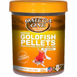 Small Goldfish Pellets 4.2oz