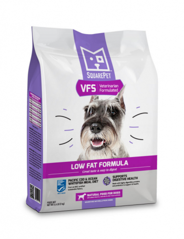 SquarePet Dog VFS Low Fat COD & WHITEFISH 2kg