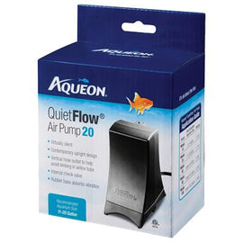 Aqueon Quietflow 1.7W Air Pump- 20 Gallon