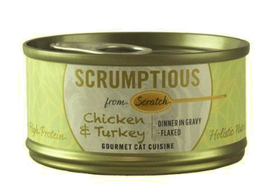 Scrumptious Chicken & Turkey 2.8oz