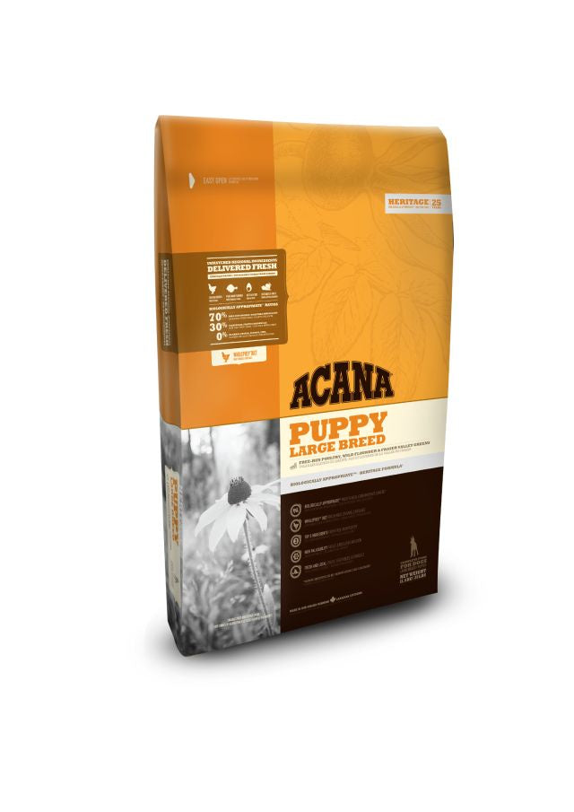 Acana Puppy Large Breed 11.4kg Bag Dog Kibble