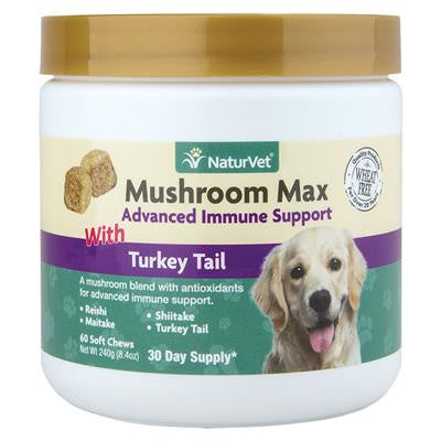 Soft Chew Mushroom Max Immune Support 60CT