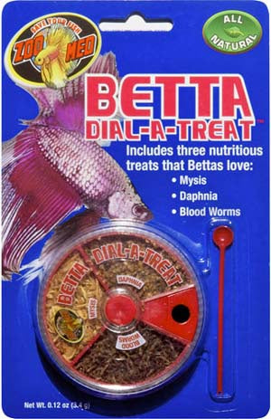 Betta Dial A Treat .12oz