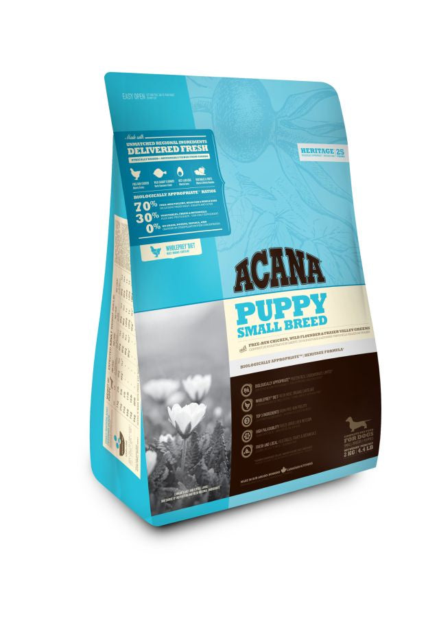 Acana Puppy Small Breed 2kg Bag Dog Kibble