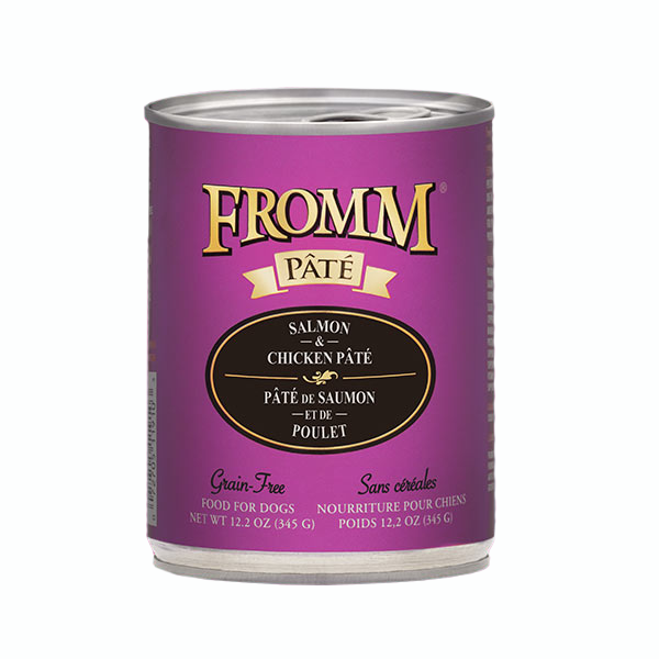 Fromm Dog Salmon And Chicken Pate 12.2oz