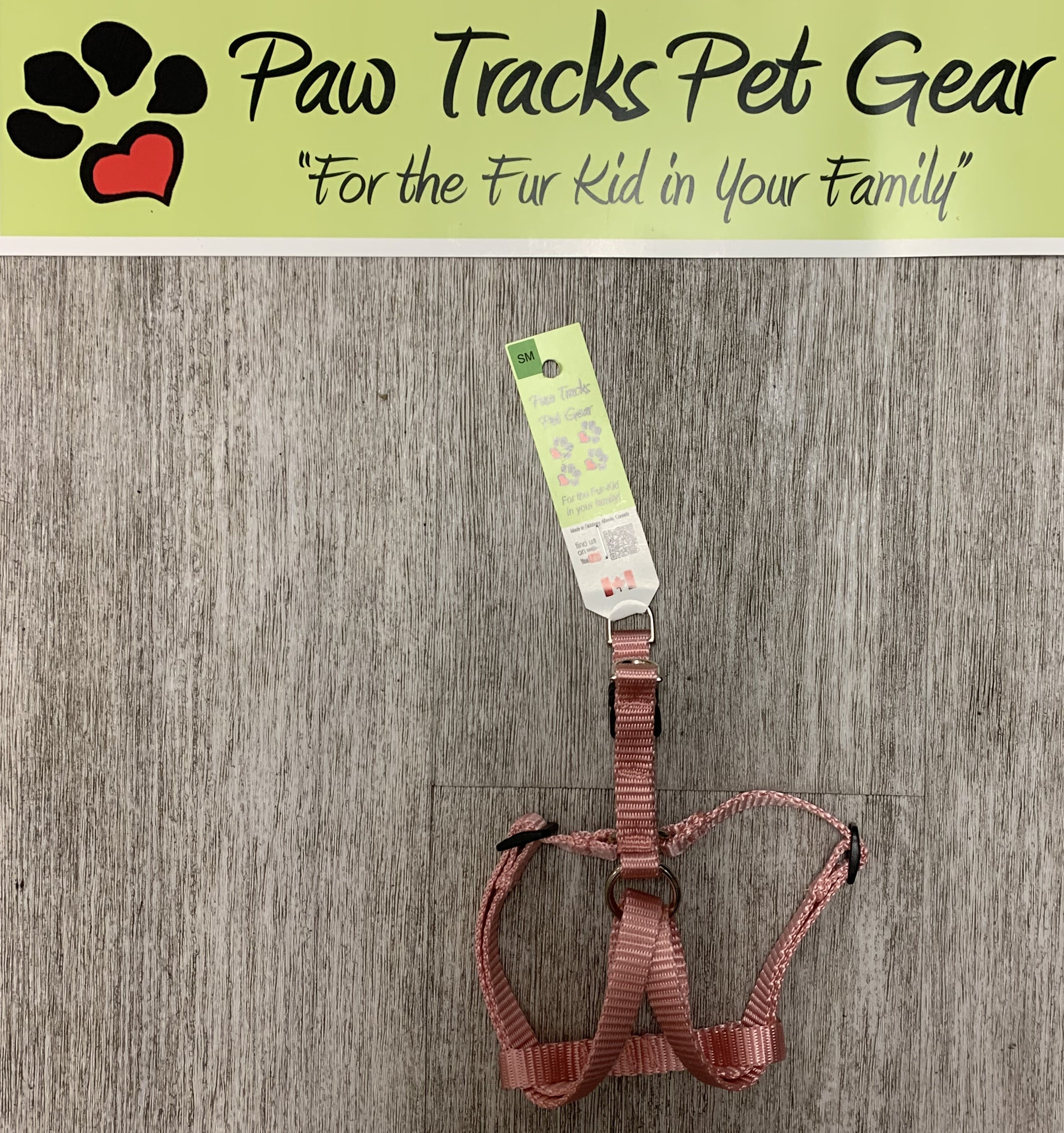 Medium Step - In Dog Harness - Pink