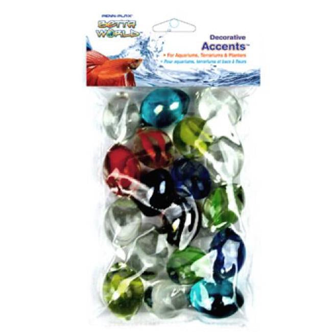 Betta World Assorted Glass Marbles Bag