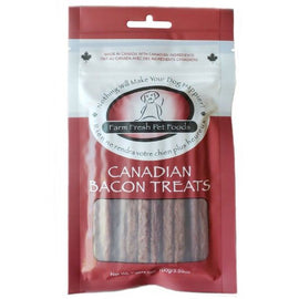 Farm Fresh Canadian Bacon Treats 100g