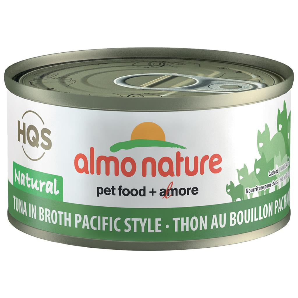 Almo Complete Nature Tuna in Broth Pacific Style 2.47oz