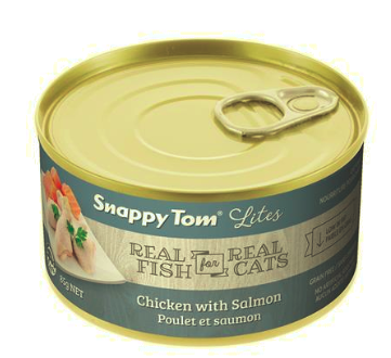Snappy Tom Chicken with Salmon 3oz