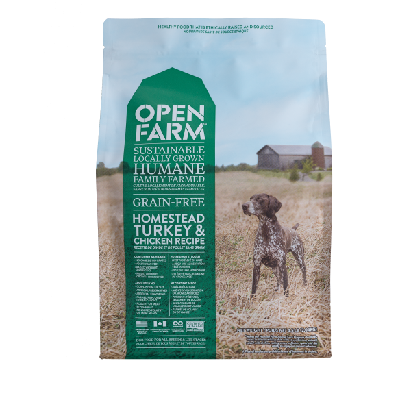 Open Farm Dog Homestead Turkey & Chicken 24 lb