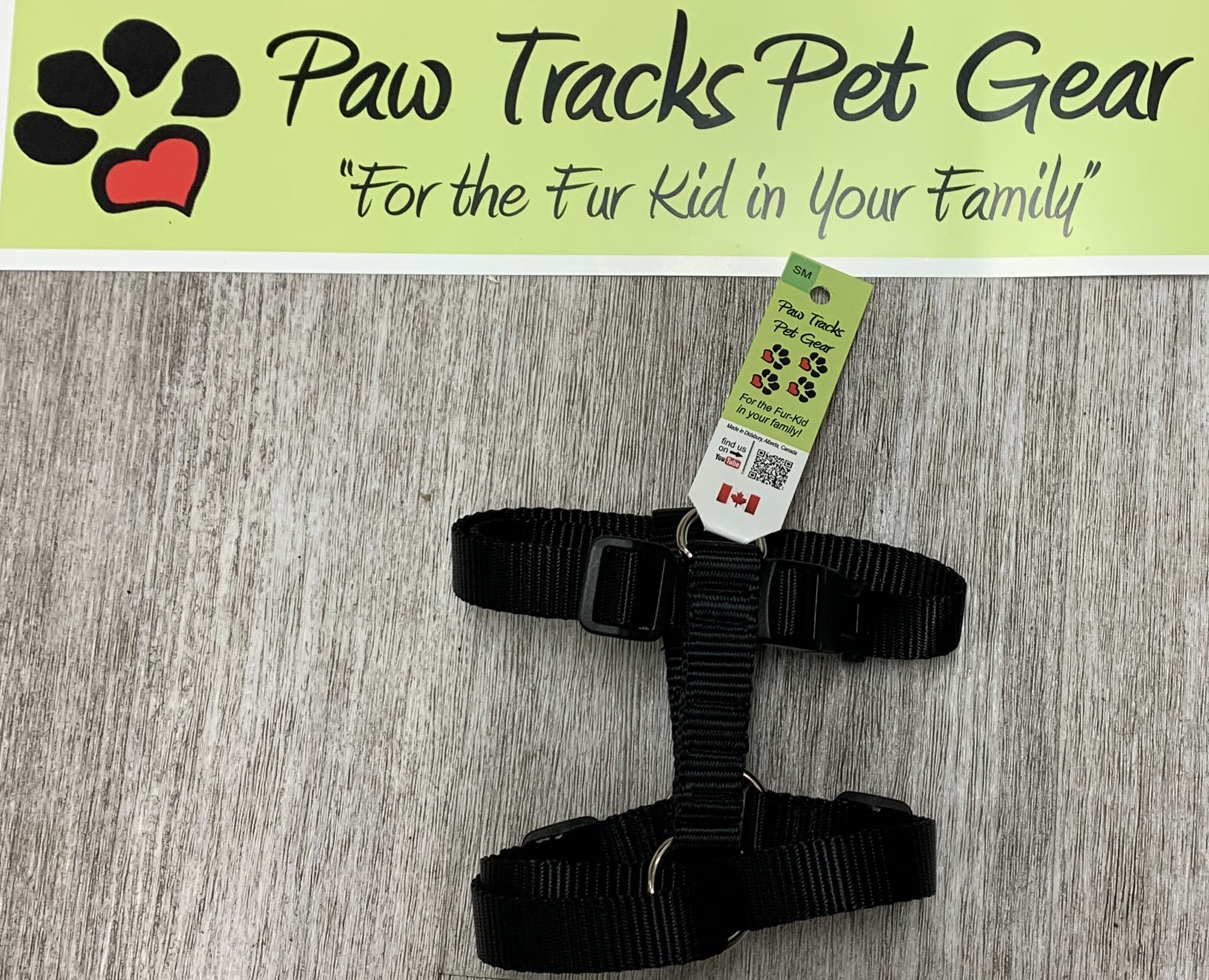 X-Small Dog Harness - Black