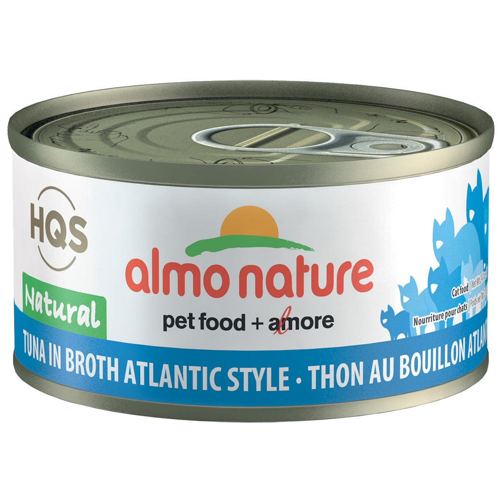 Almo Complete Nature Tuna in Broth Atlantic Style 2.47oz