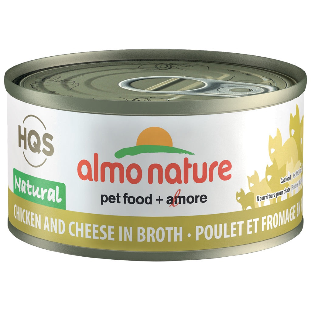 Almo Complete Nature Chicken and Cheese in Broth 70gm cat