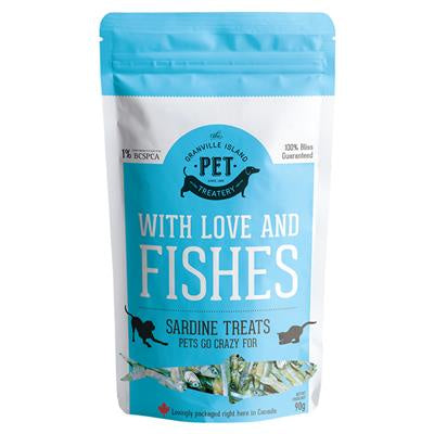 With Love & Fishes Sardine Treats 90g