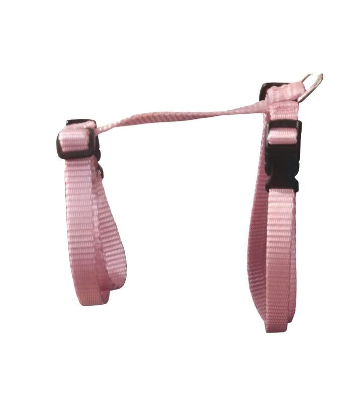 Large Adjustable Cat Harness - Pink