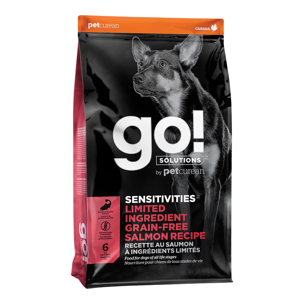 GO! Sensitivities LID Salmon Dog Kibble 12lb