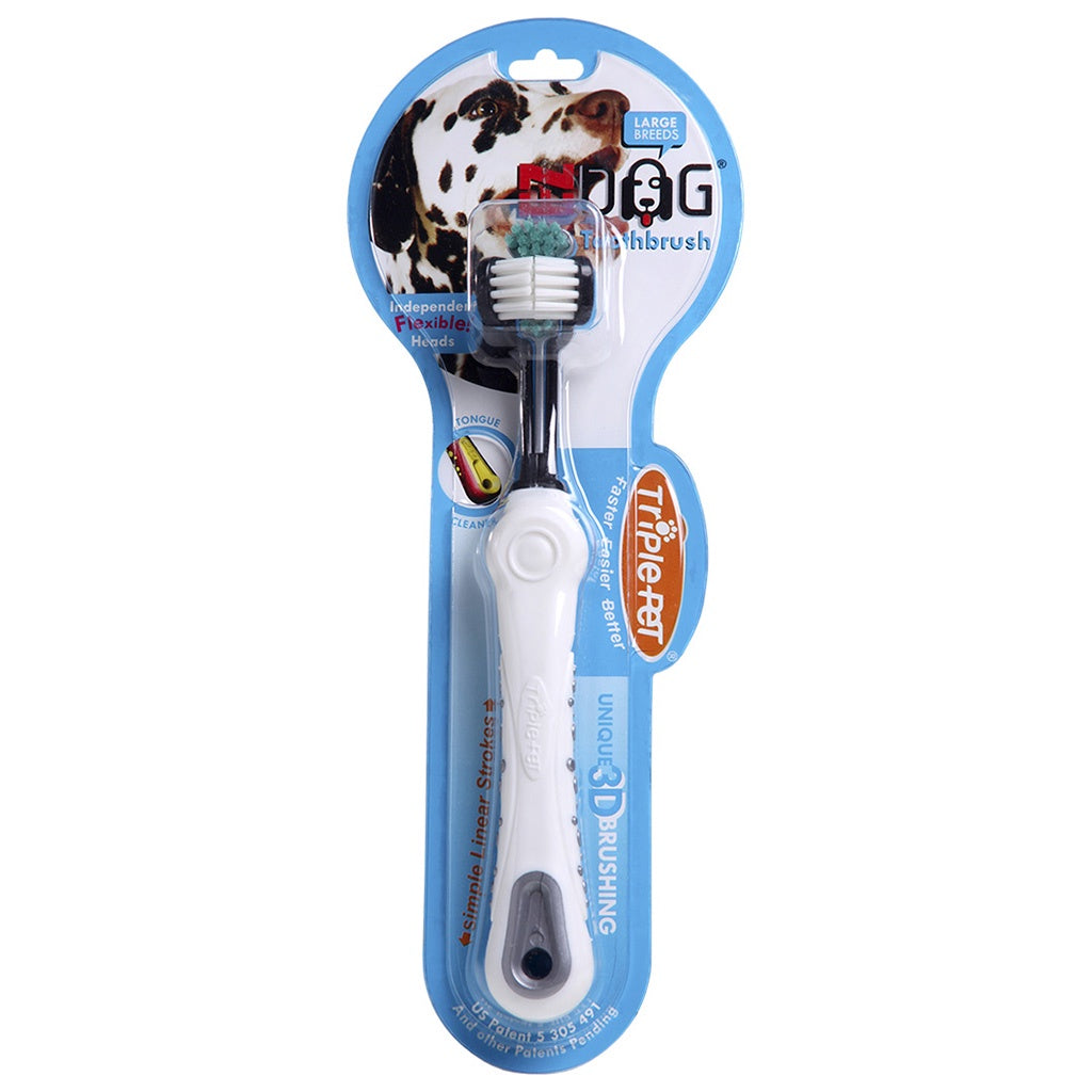 Triple Pet Toothbrush Large