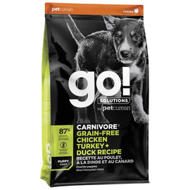 GO! Carnivore Chicken Turkey & Duck Puppy Kibble  3.5lb