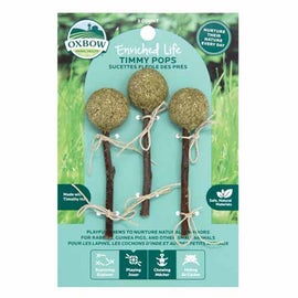 Oxbow Enriched Life Timmy Hay Pops 3 Pack Natural Chews