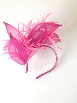 Headband with Crin and Feathers