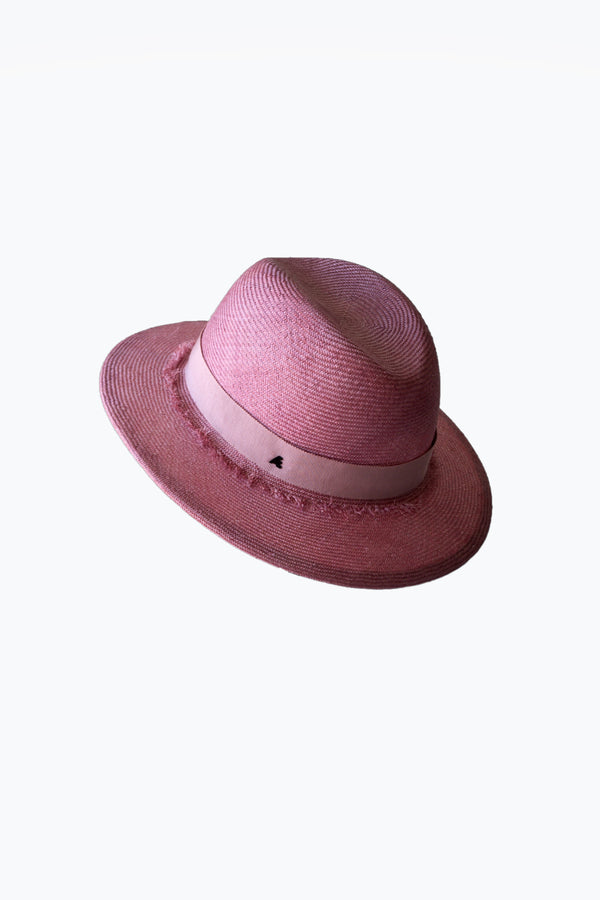 Sisal hat Rose