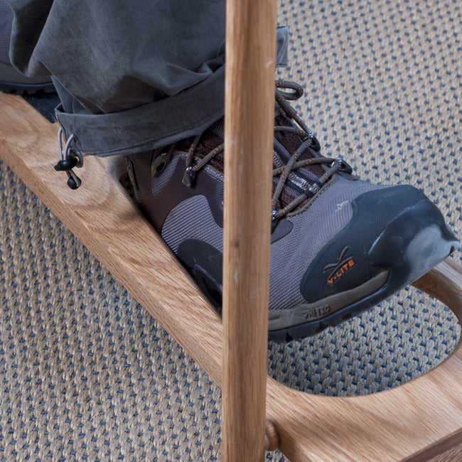 English Oak Folding Boot Jack