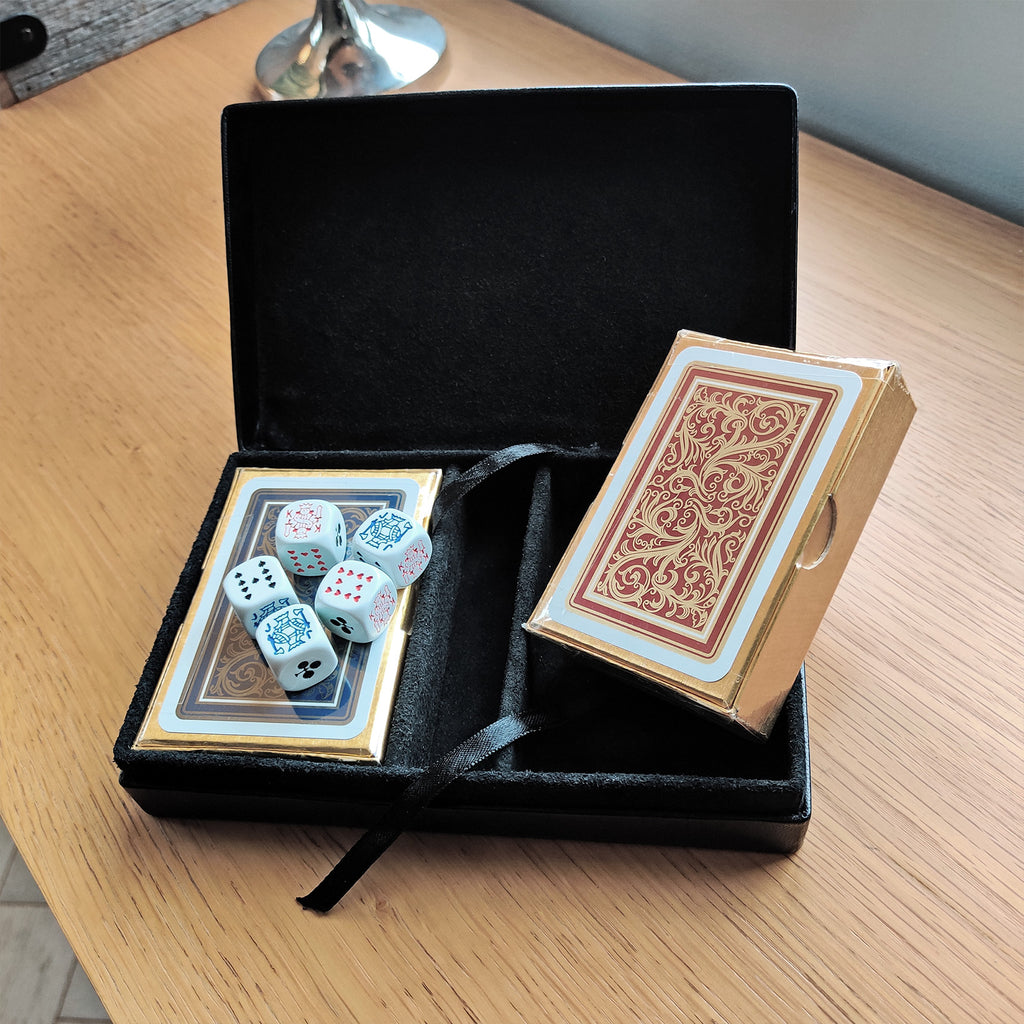 Bridge Card and Dice Set
